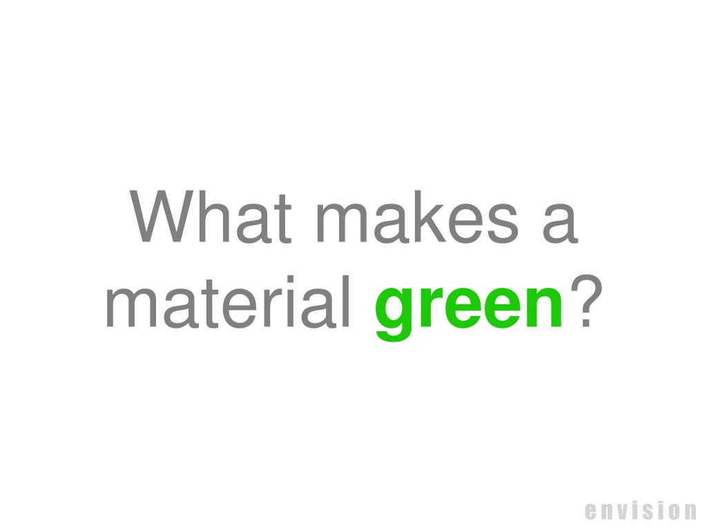 What makes a material