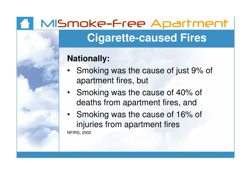 Cigarette-caused Fires
