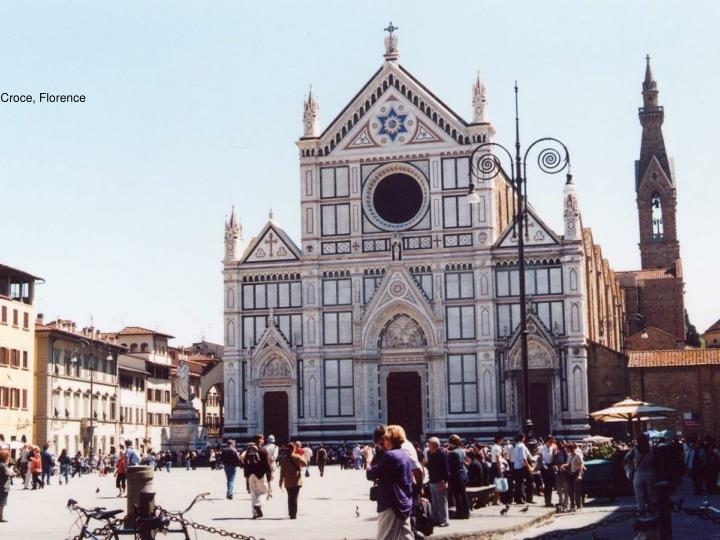 Sta. Croce, Florence