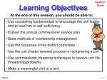 learning objectives34