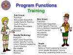 program functions44