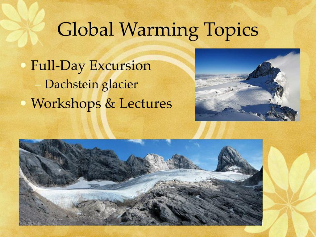 Global Warming Topics
