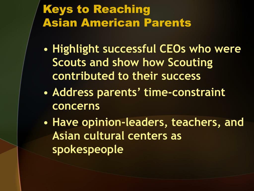 Keys to Reaching