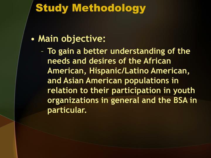 Study methodology3