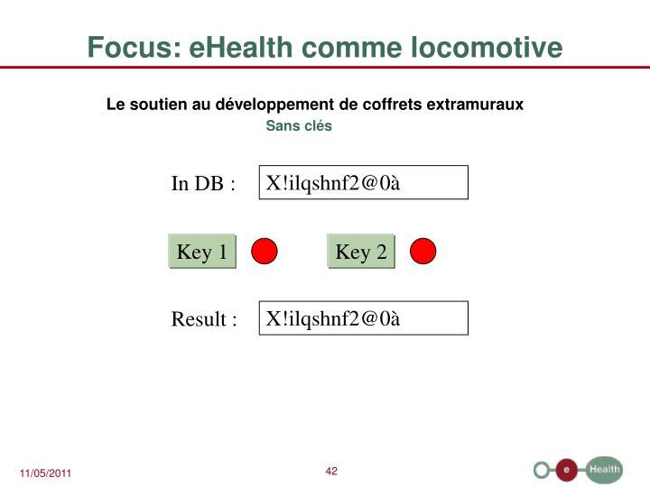 Focus: eHealth comme locomotive