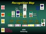 recognition map
