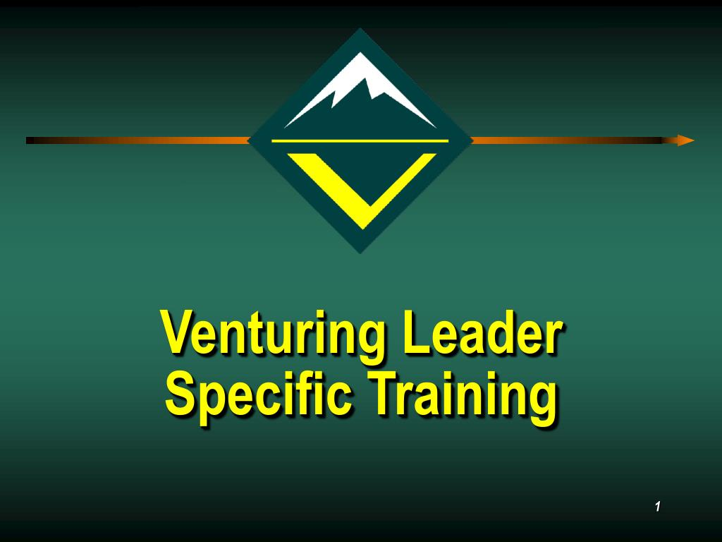 venturing leader specific training l.