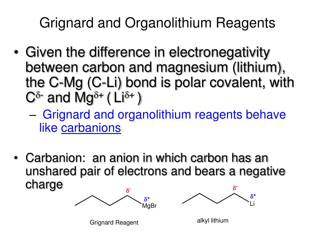 Ppt Organometallic Compounds Powerpoint Presentation