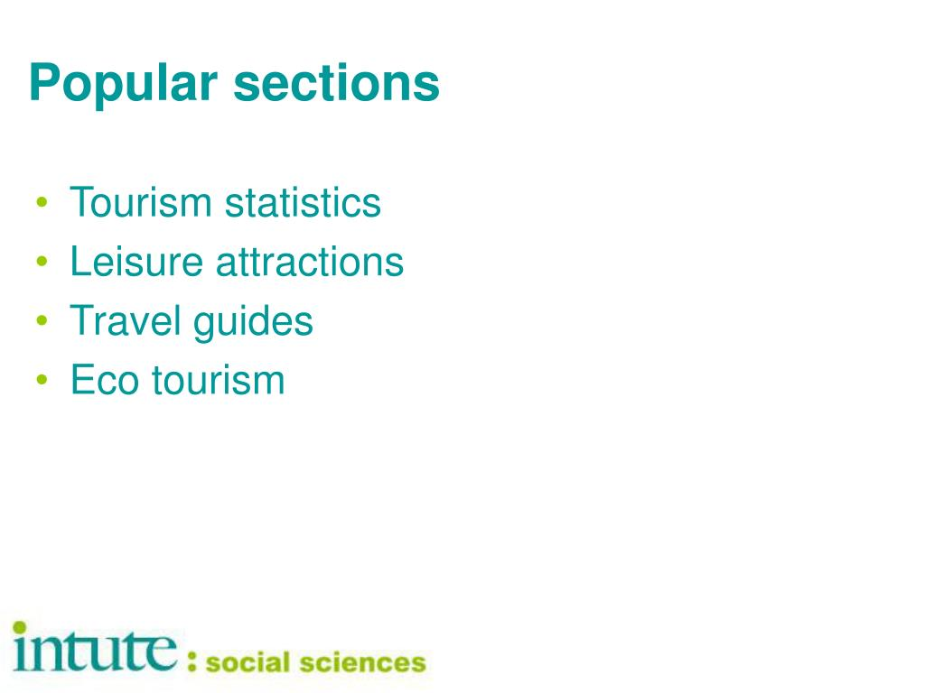 Popular sections