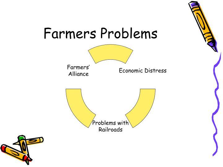 Farmers problems