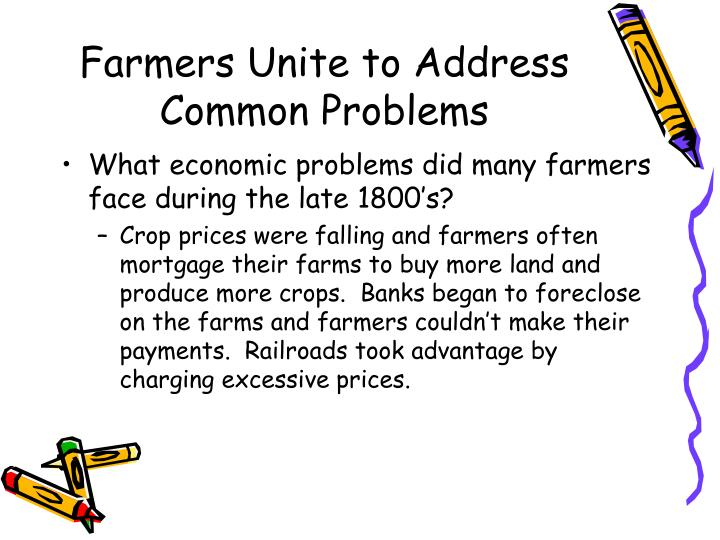 Farmers unite to address common problems