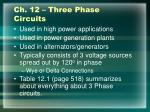 ch 12 three phase circuits
