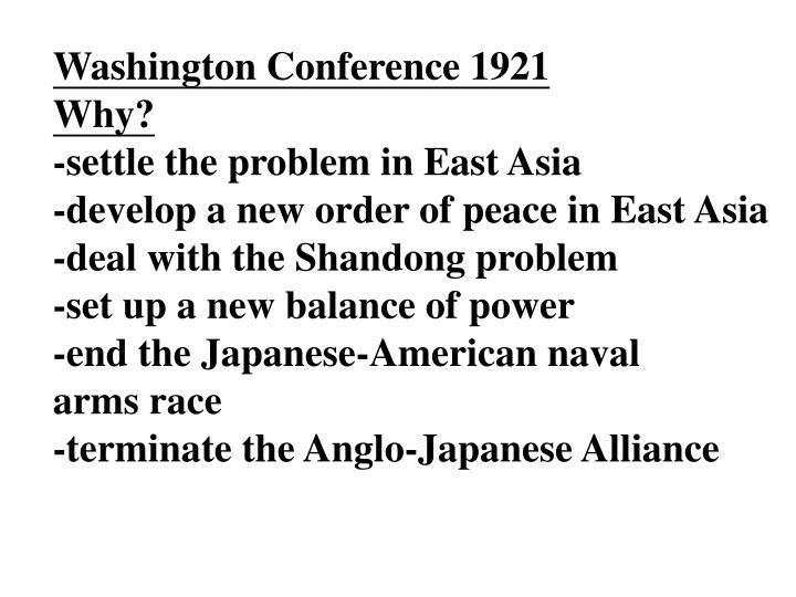 Washington Conference 1921