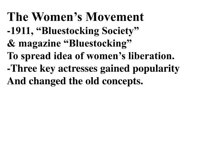 The Women's Movement