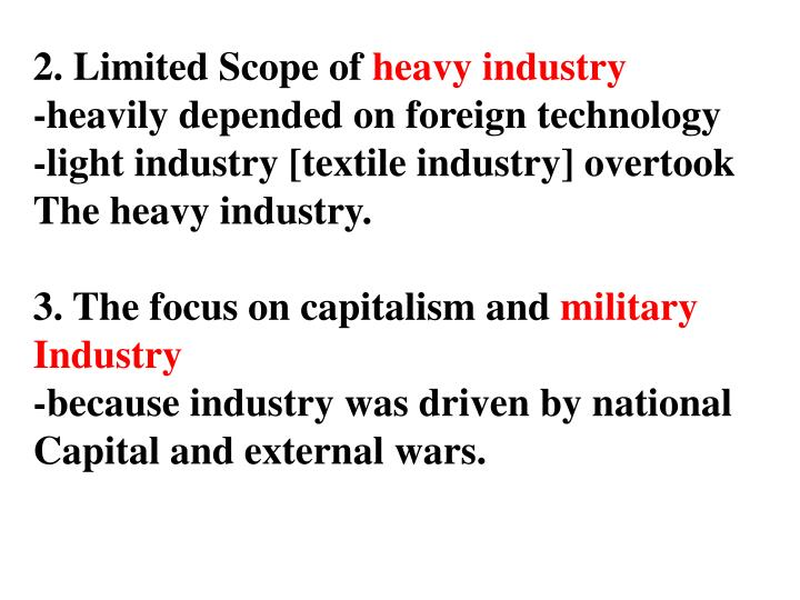 2. Limited Scope of
