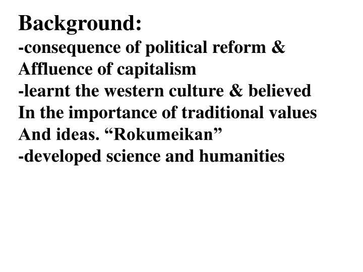 Background: