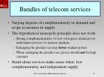 bundles of telecom services