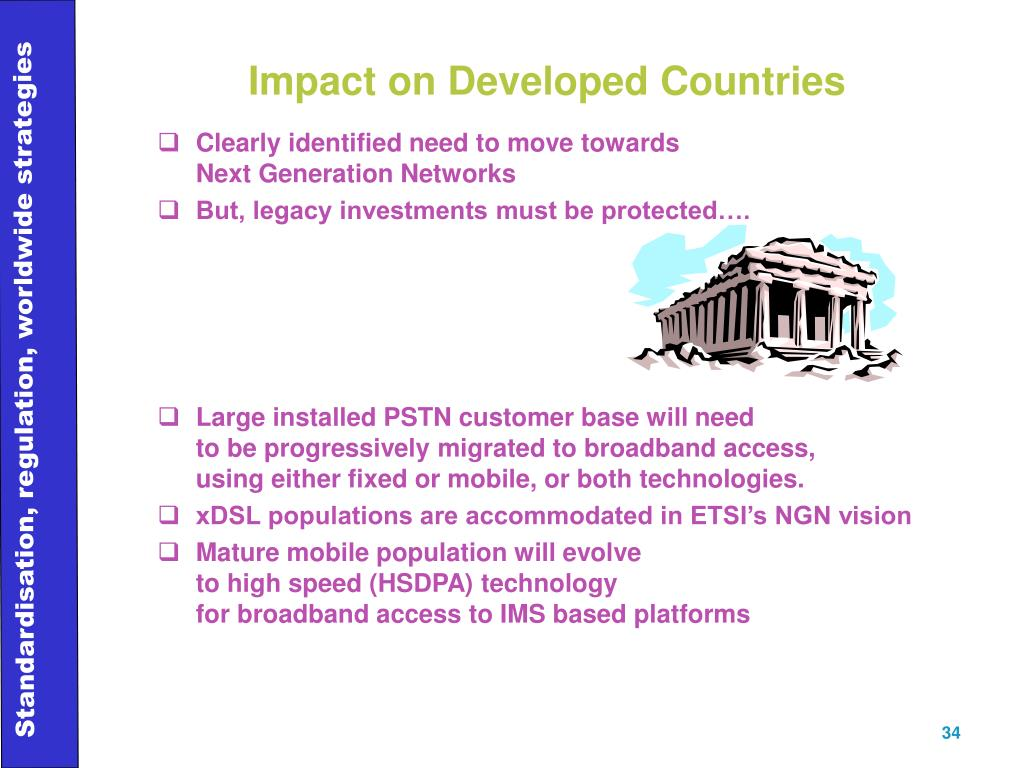 Impact on Developed Countries