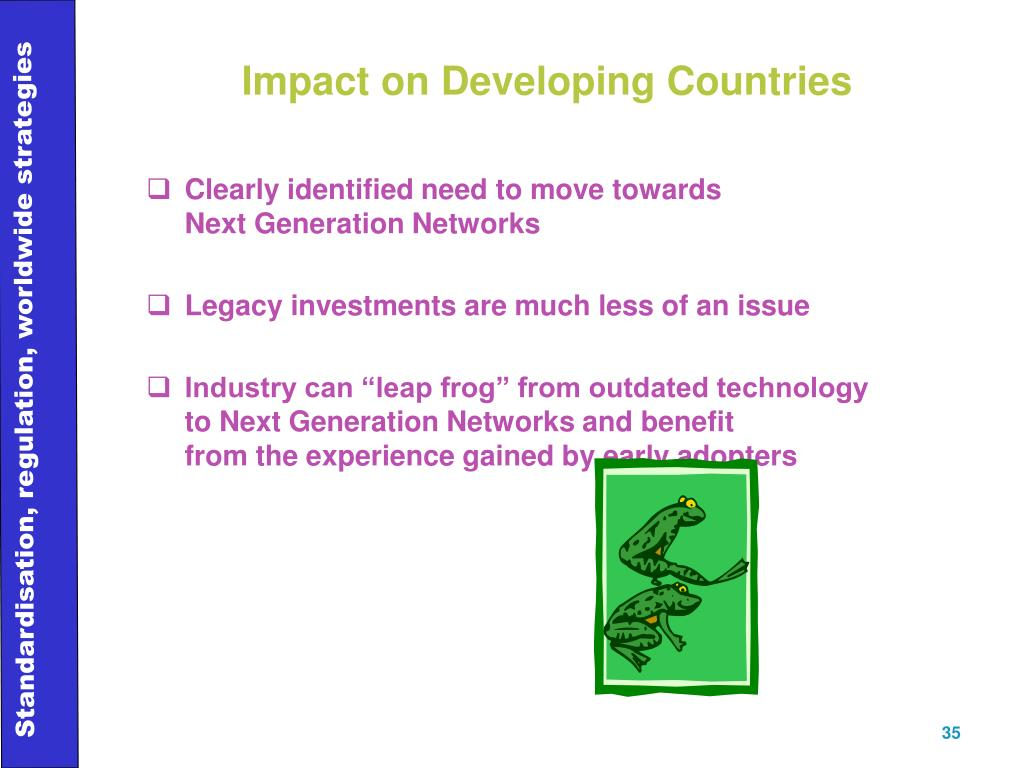 Impact on Developing Countries