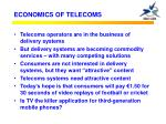 economics of telecoms