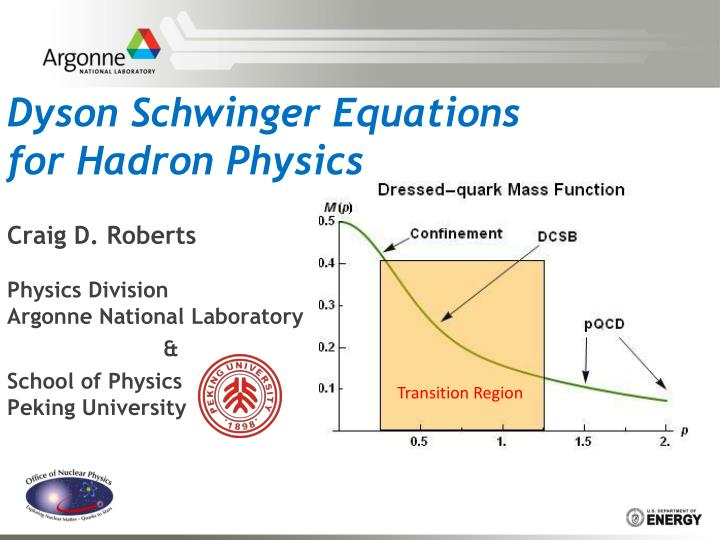 dyson schwinger equations for hadron physics n.