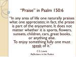 praise in psalm 150 630