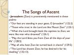 the songs of ascent8