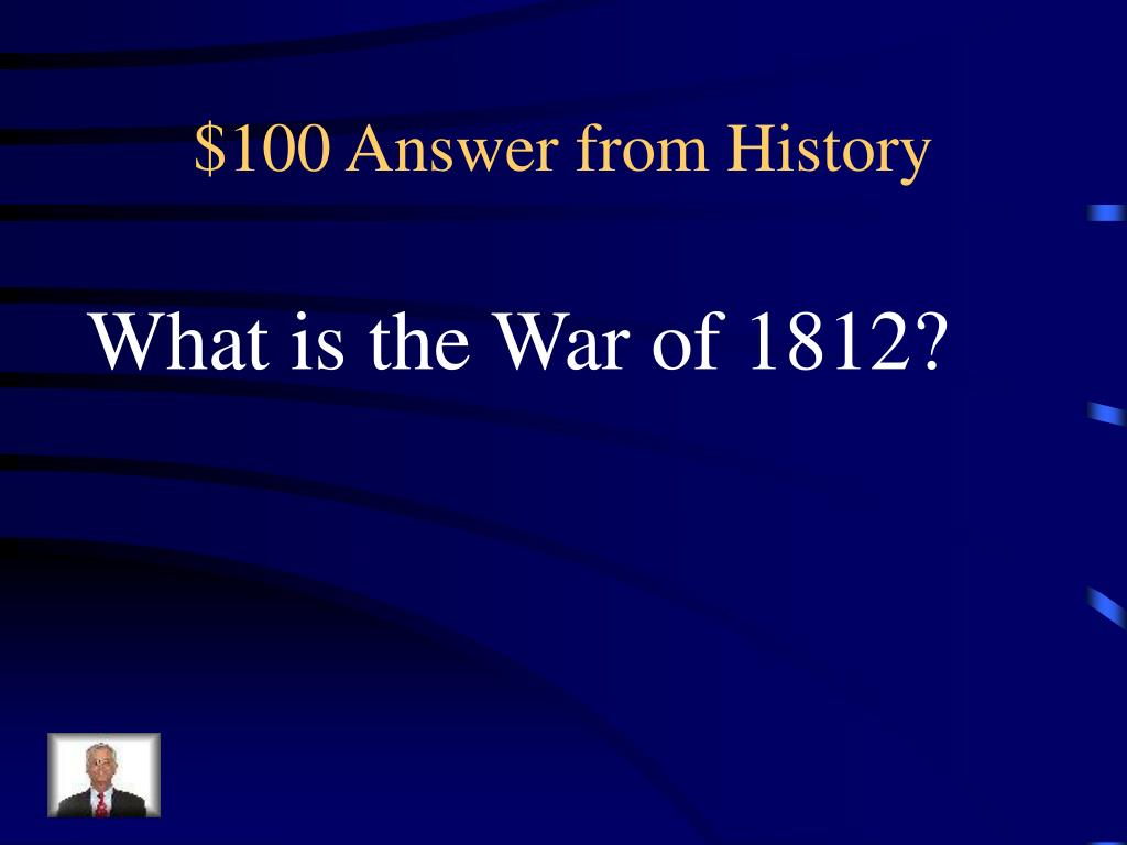 $100 Answer from History