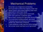 mechanical problems