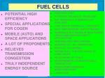 fuel cells17