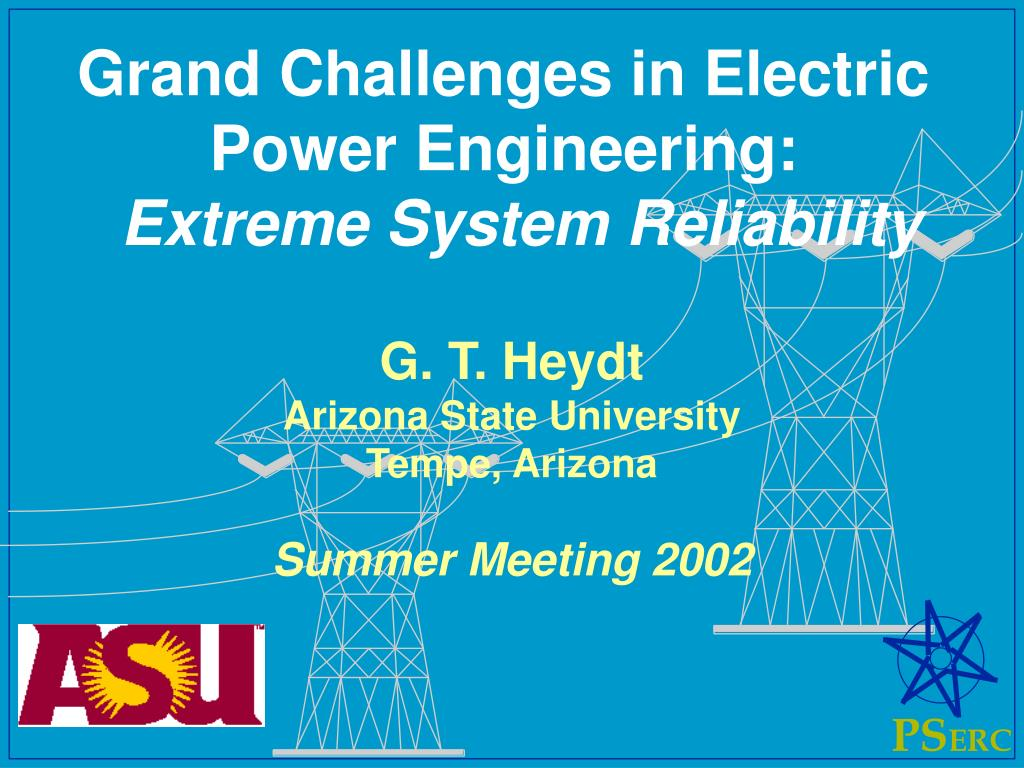 Grand Challenges in Electric Power Engineering: