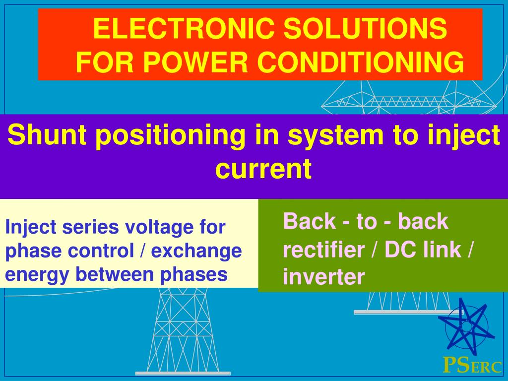 Inject series voltage for phase control / exchange energy between phases
