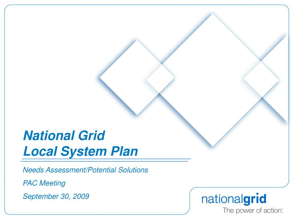 national grid local system plan l.