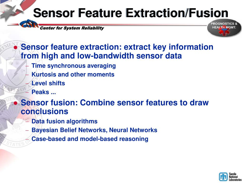 Sensor Feature Extraction/Fusion