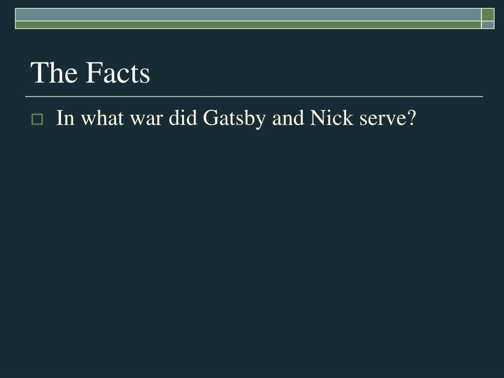PPT - The Great Gatsby PowerPoint Presentation - ID:1152040