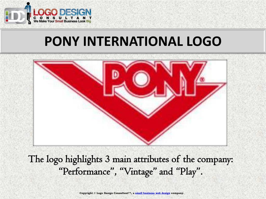 PONY INTERNATIONAL LOGO