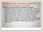 wavex co uk provides expert in house it support function