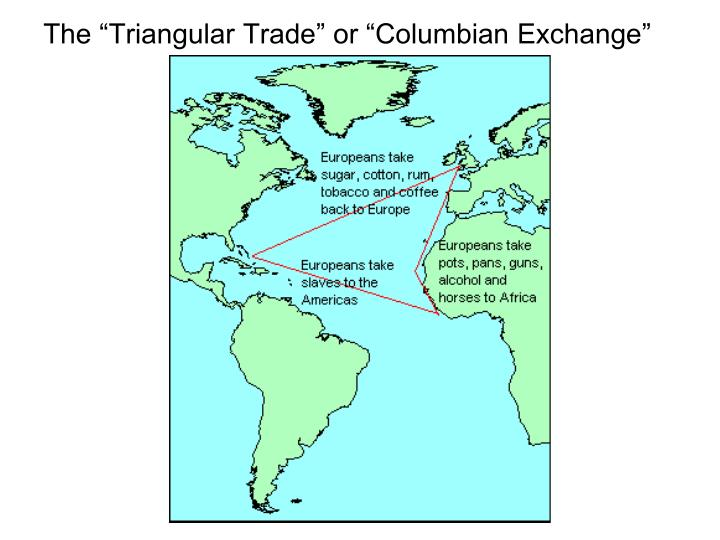 truth about columbus and triangle trade And on columbus' second trip to the new world – he brought sugar which was quintessential trade triangle sugar is not an americas-indigenous crop – it is asian.