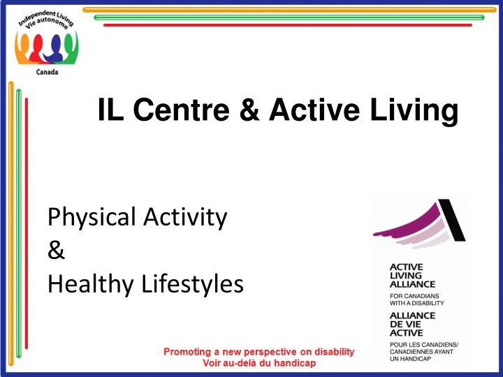 physical activity healthy lifestyles n.