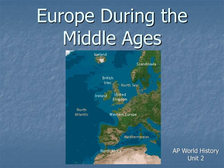 europe during the middle ages n.