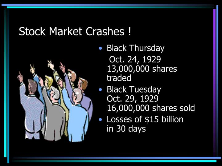 black thursday stock market crash Art cashin reuters/brendan mcdermid  there's an old myth that one time when the new york stock exchange opened on good friday, stocks collapsed in a black friday-esque crash.