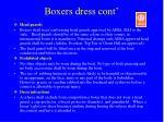 boxers dress cont