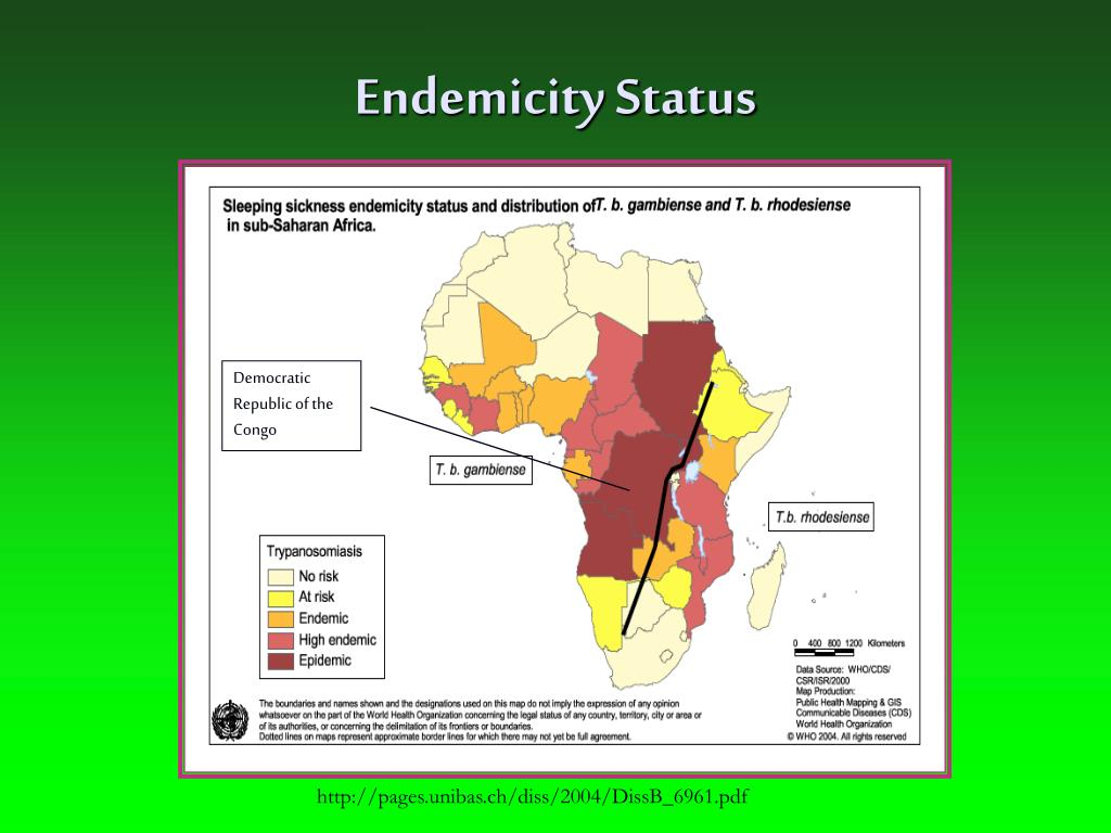 Endemicity Status