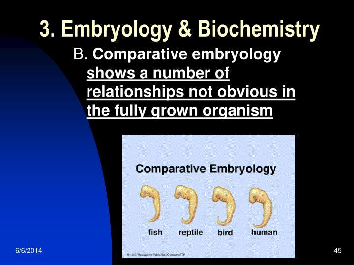 3. Embryology & Biochemistry