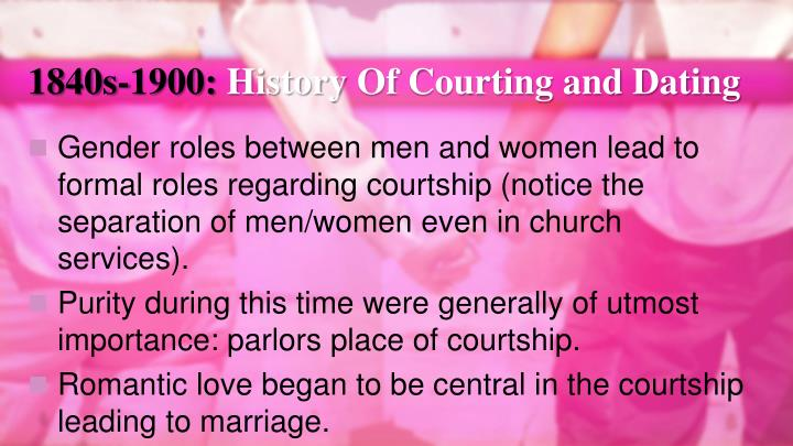 importance of dating and courtship before marriage
