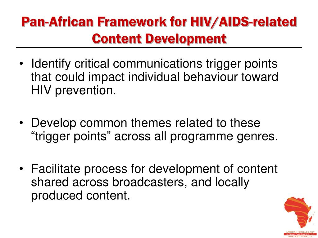 Pan-African Framework for HIV/AIDS-related Content Development