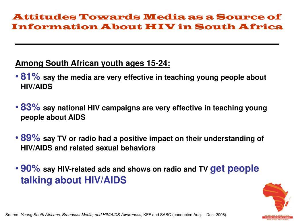Attitudes Towards Media as a Source of