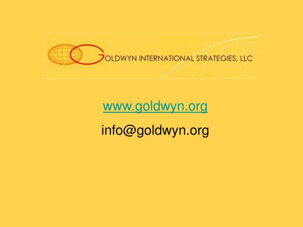 www.goldwyn.org