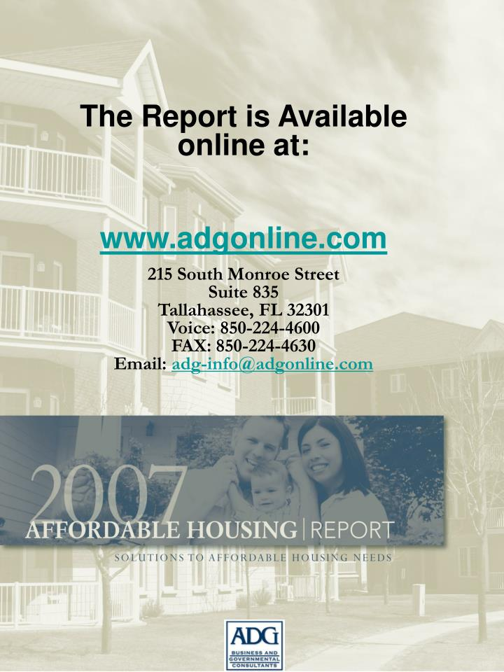 The Report is Available online at: