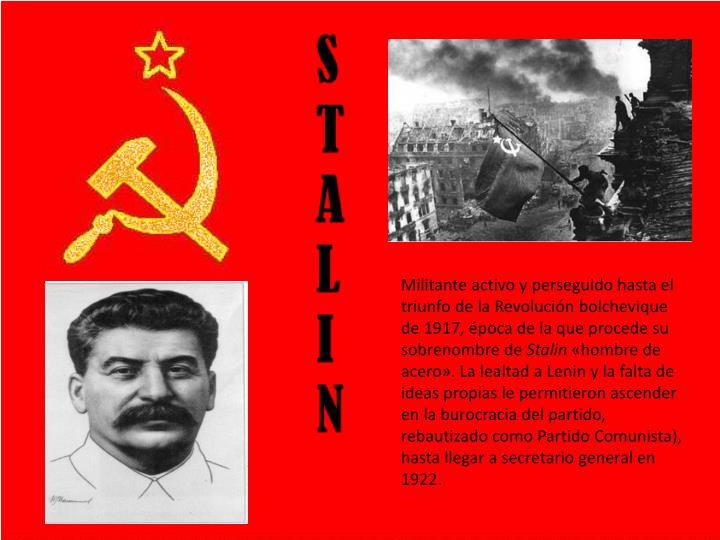 Militante activo y perseguido hasta el triunfo de la Revolución bolchevique de 1917, época de la q...